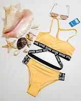 Стильний підлітковий купальник для дівчинки . Хіт Літо 2021, на зріст 128-134, 140-146, 152-158