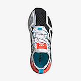 Чоловічі кросівки adidas ZX 2K Boost Blue whate, фото 6
