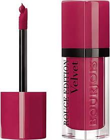 Рідка матова помада Bourjois Rouge Edition Velvet Lipstick 02 - Frambourjoise