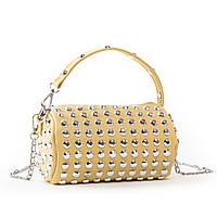 Сумка жіноча клатч 6853 жовтий.Джемпера жіночі сумки купити недорого в Україні, фото 1