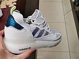 Мужские кроссовки adidas ZX 2K Boost whate, фото 2
