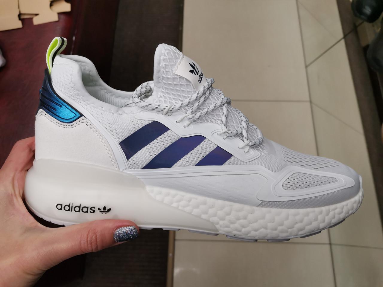 Мужские кроссовки adidas ZX 2K Boost whate
