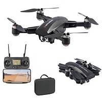 Квадрокоптер JJRC X16 Black - дрон с 4K камерой, 5G Wi-Fi, GPS, FPV, БК моторы, до 25 мин кейс