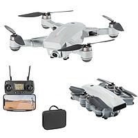 Квадрокоптер JJRC X16 Grey - дрон с 4K камерой, 5G Wi-Fi, GPS, FPV, БК моторы, до 25 мин. кейс