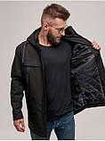 Мужская демисезонная куртка D-02  Черный, фото 2
