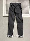 Котоновые штаны на резинке  для мальчиков   11-15 лет, фото 6