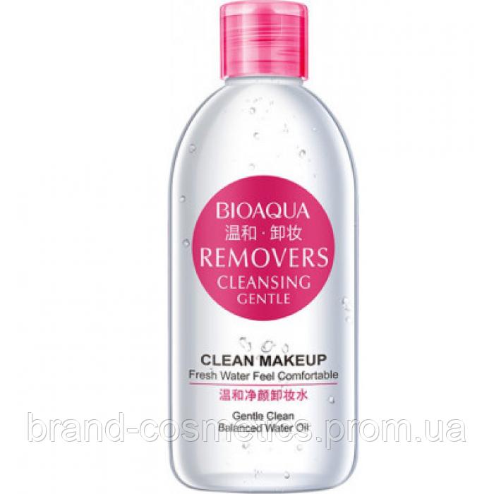 Мицеллярная вода BIOAQUA Removers Cleansing Gentle для снятия макияжа 250 мл