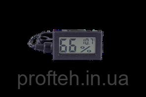Гігрометр-Термометр (Вологомір) цифровий, вимірювач температури і вологості в інкубаторі