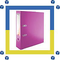 Папка - регистратор (сегрегатор) А4/75 Delta (розовая-односторонняя)