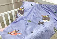 Постільна білизна в дитячу ліжечко Viluta. Сатин 418, фото 3