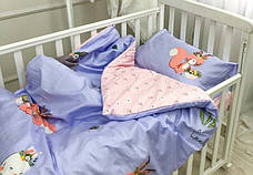 Постільна білизна в дитячу ліжечко Viluta. Сатин 418, фото 2