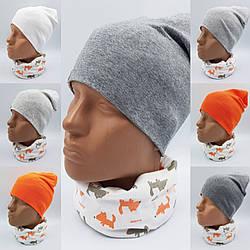Демисезонные  шапки  на детей, подростков  от 3 лет и  до 12 лет
