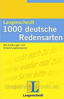 Книга Langenscheidt 1000 Deutsche Redensarten libro