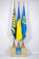 Рекламный цех. Изготовление VIP тумбы для флагов