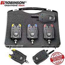 Набор сигнализаторов поклевки Robinson Super Vibe 3+1