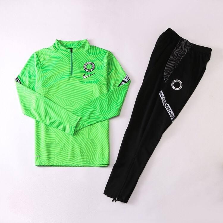 Тренировочный костюм сборной Нигерии