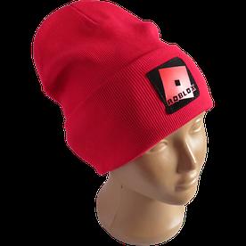 Молодежная весенняя хлопковая шапка Fero с логотипом, красная
