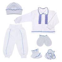 Костюм для хлопчика Національний (кофта, брюки, шапка, пінетки, рукавички), 62 (11369.06.62)