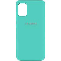 Силиконовый чехол Silicone Cover на телефон Samsung Galaxy A51 / Самсунг А51