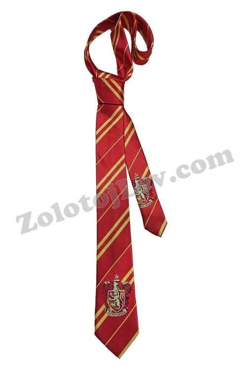 Галстук Гарри Поттера с эмблемой Гриффиндор
