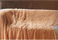 Покрывало ворсистое на кровать из бамбука евро-размер