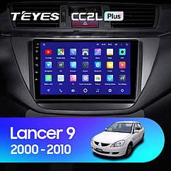 Штатная магнитола TEYES Mitsubishi Lancer 9  2000 - 2010 Android