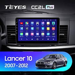 Штатная магнитола TEYES   Mitsubishi Lancer 10  2007- 2012 Android