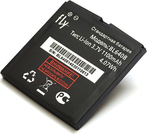 Акумулятор для мобільного телефону Fly BL6408 (1100mAh)