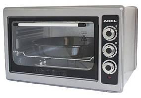 Электрическая печь духовка Asel AF-0023 серая