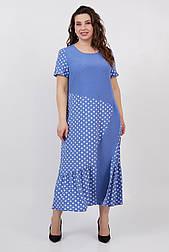 Платье ТМ ALL POSA голубой 50 (100514)