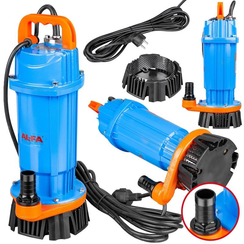 Насос дренажний для брудної води (сітко) AL-FA ALQDX12 13000L/h