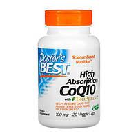 Коензим Q10 високою абсорбації 100 мг BioPerine Doctor's s Best 120 гельових капсул