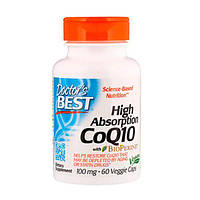 Коензим Q10 Високою Абсорбації 100 мг BioPerine Doctor's s Best 60 гельових капсул