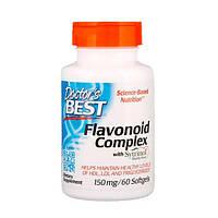 Флавоноїдний Комплекс з Ситринолом 150 мг Doctor's s Best 60 гельових капсул