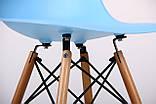 Стул Aster PL Wood голубой пластик AMF (бесплатная адресная доставка), фото 5
