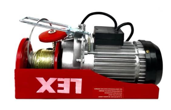 Тельфер LEX LXEH 300/600кг висота підйому 12/6 м