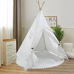 Детская игровая палатка Littledove RT-1640 Simple White вигвам домик для детей