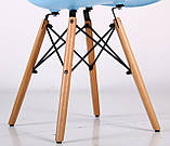Стул Aster PL Wood голубой пластик AMF (бесплатная адресная доставка), фото 10