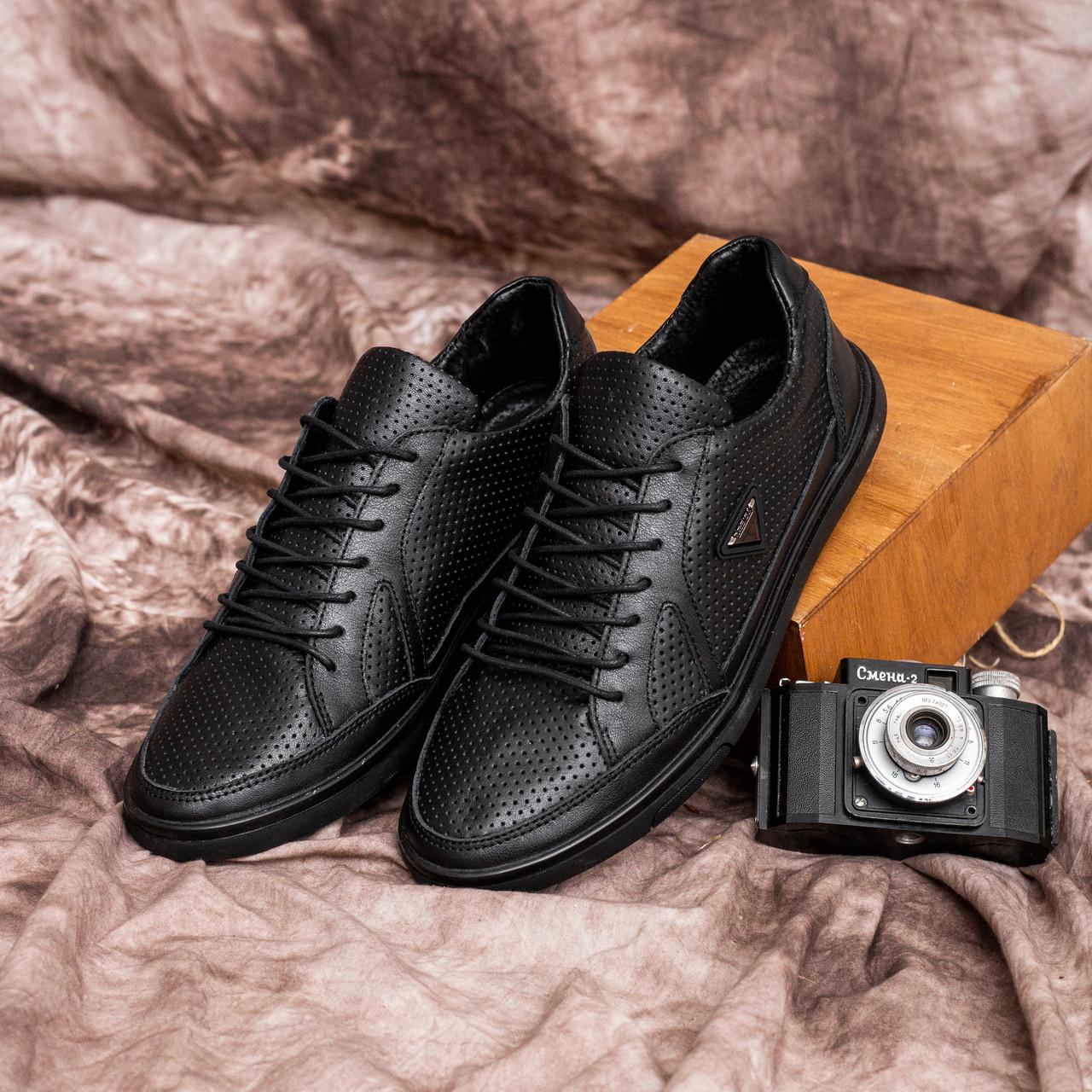 Чоловічі кросівки Візаж Дизайн (чорні)