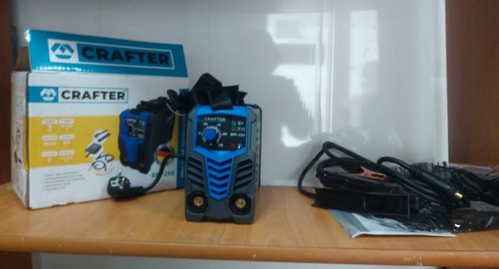 Інверторний зварювальний апарат Crafter RPI-250