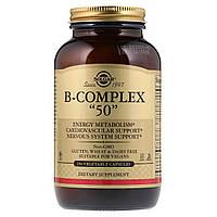 "Витаминный B-Комплекс, B-Complex ""50"", Solgar, 250 Капсул"