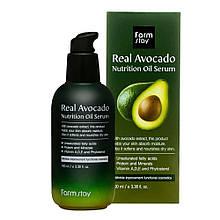 Сироватка для обличчя Farm Stay Real Avocado Nutrition Oil Serum c авокадо 100мл