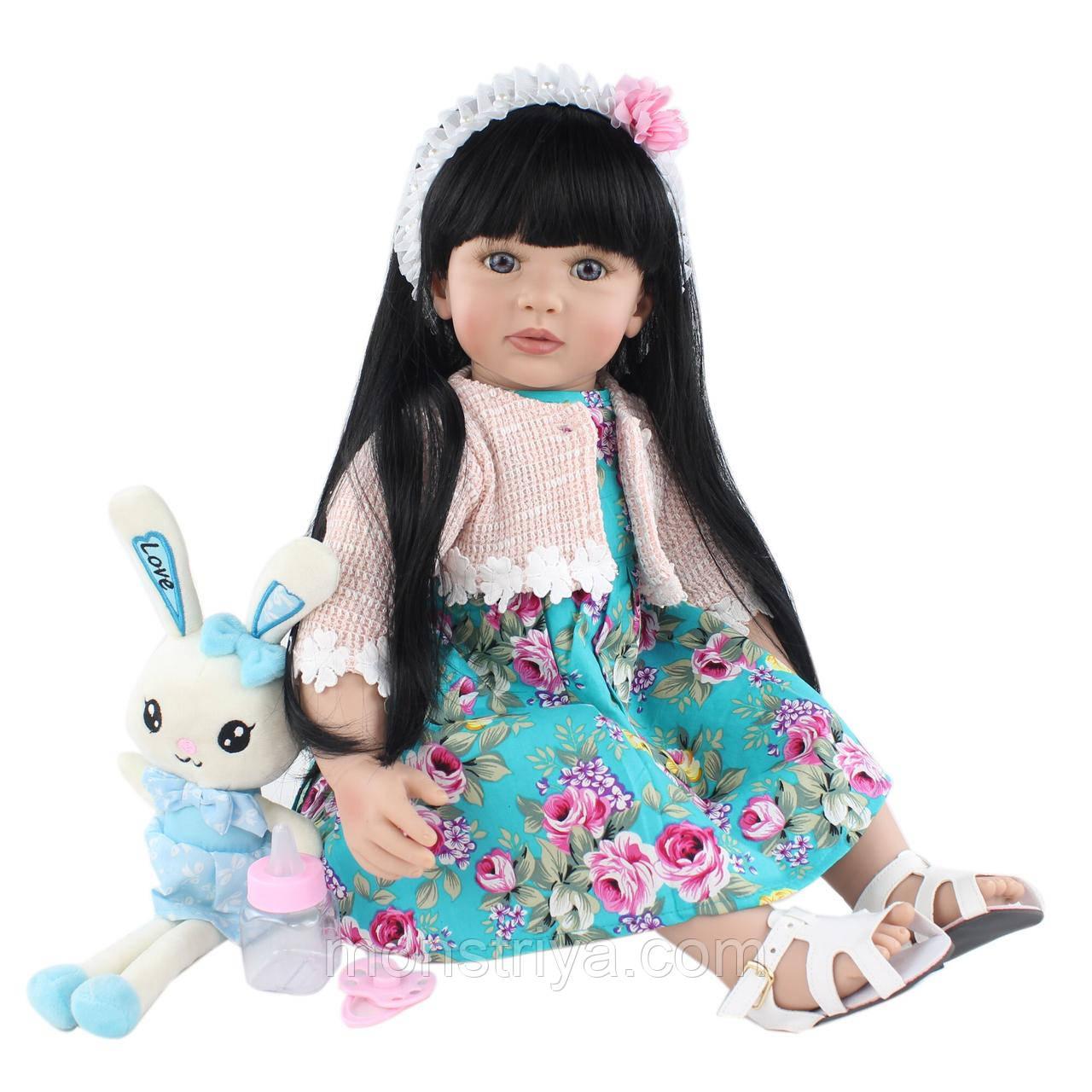 Потрясающая Куколка реборн, девочка АННУШКА, 60 см