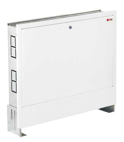 Шкафчик коллекторный встроенный 1015x625х130 FADO