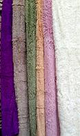 Ворсистый бамбуковый плед разные цвета