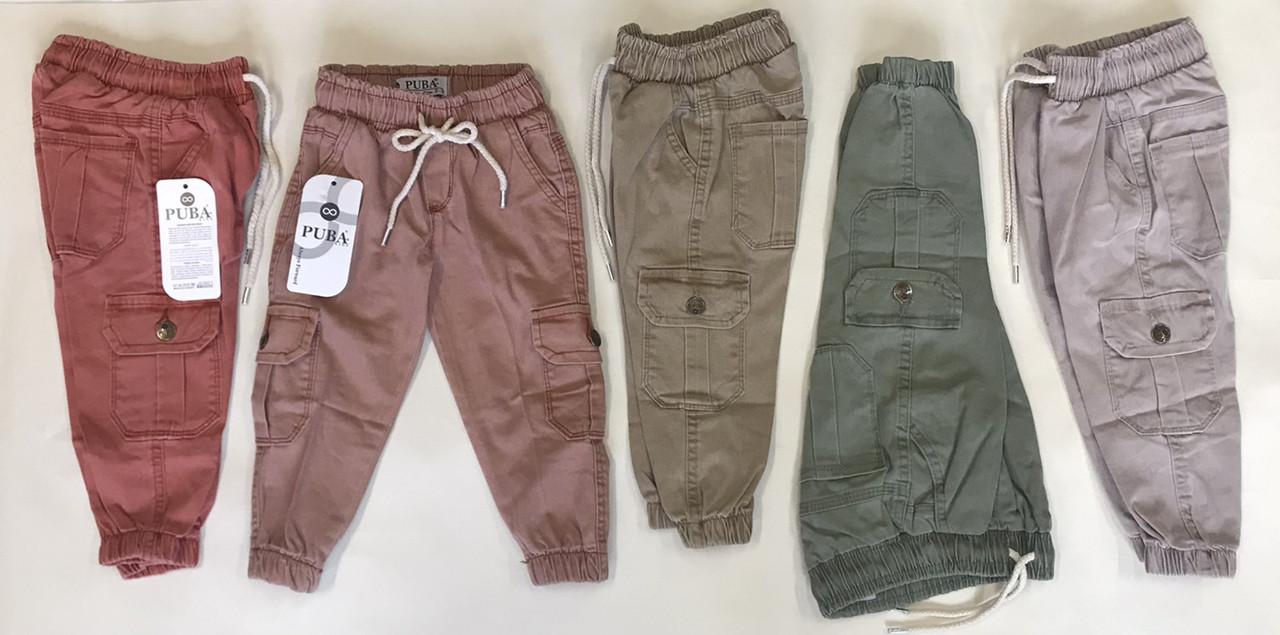 Штаны джогеры для мальчиков и  девочек 3-7 лет Puba