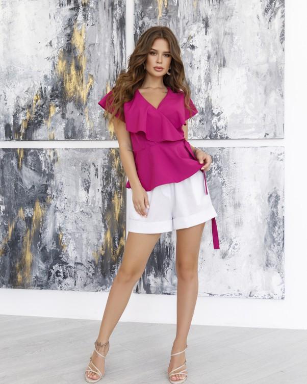 Блузи  12045 XL фіолетовий