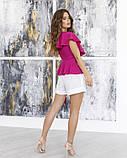 Блузи  12045 XL фіолетовий, фото 3