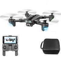 Квадрокоптер S167 дрон с 4K камерой, GPS, 5G WIFI, FPV, до 18 мин. полета + кейс