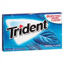 Жевательная резинка Trident original flavor Перечная мята 14 шт